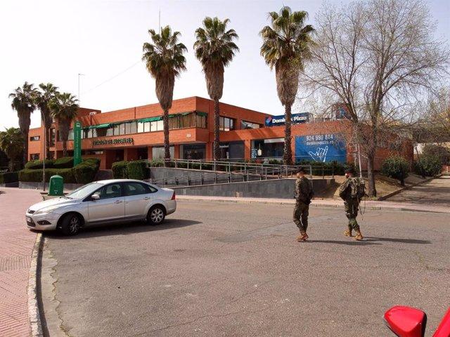 Militares del Ejercito en las calles de Mérida