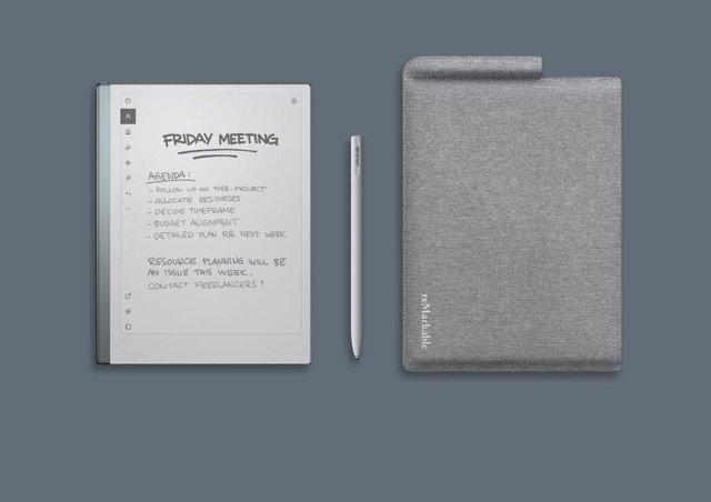 reMarkable 2, la nueva tableta de tinta electrónica con solo 4,7 milímetros de g