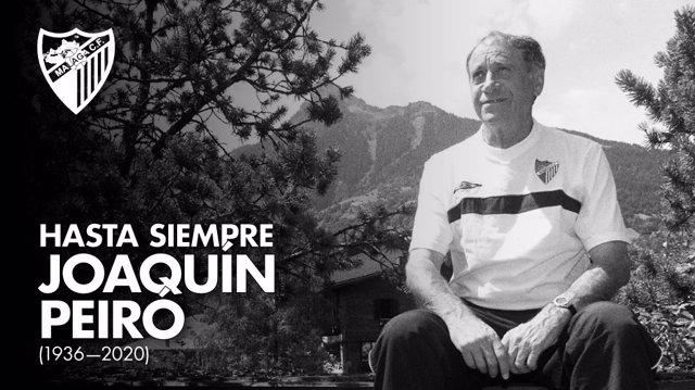 Fútbol.- Fallece Joaquín Peiró, muy recordado como jugador en el Atlético y como
