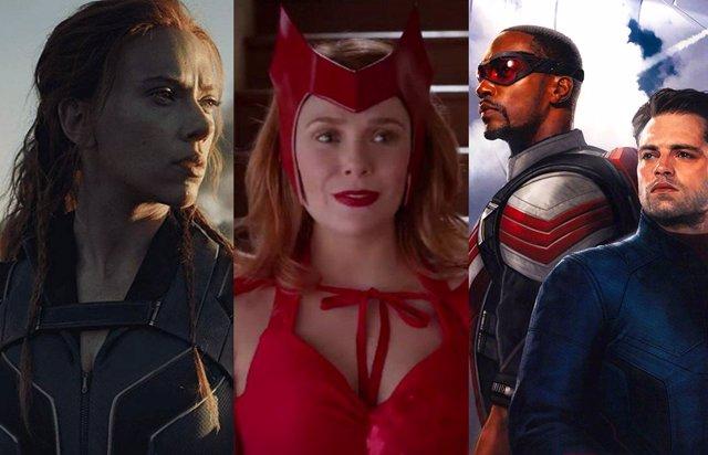 Series y películas de la Fase 4 de Marvel Studios