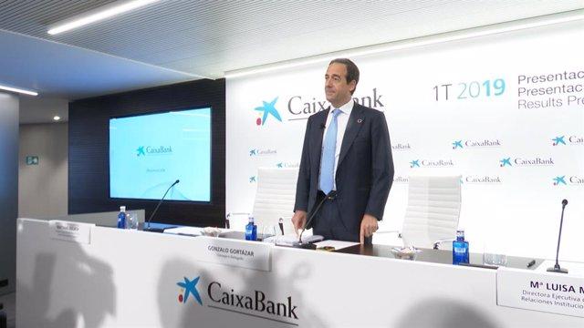 El conseller delegat de CaixaBank, Gonzalo Gortázar.