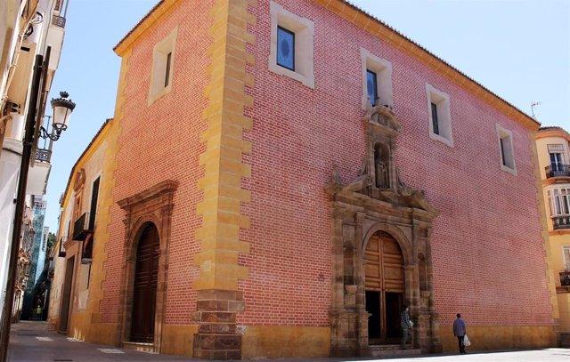 San Julián, sede de la Agrupación de Cofradías de Málaga capital