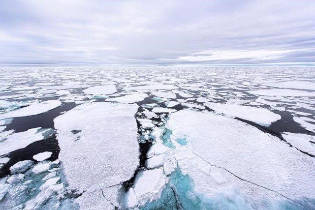 El inestable hielo del Ártico dispersará más contaminantes