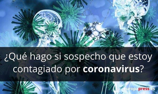 ¿Qué Hago Si Sospecho Que Estoy Contagiado Por Coronavirus COVID-19: Me Quedo En Casa O Voy Al Hospital?