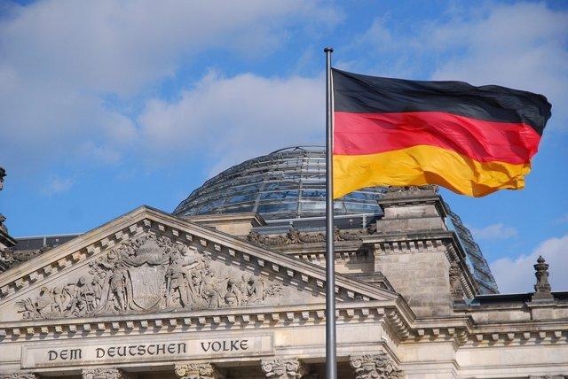 Bandera de Alemania.
