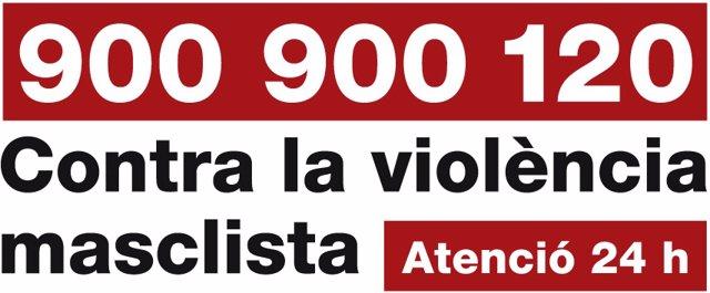 Telèfon d'atenció contra la violència masclista (arxiu)
