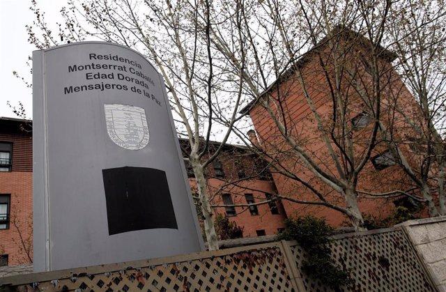 Residencia de mayores Montserrat Caballé propiedad de Mensajeros de la Paz, donde han fallecido seis personas mayores de 80 años