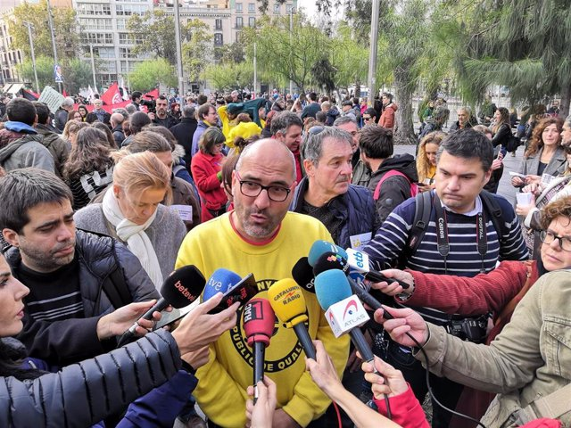 El portaveu de la IAC-Ustec·Stes, Ramon Font (arxiu)