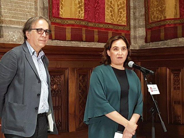 Ada Colau i Joan Subirats