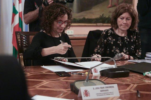 La ministra d'Hisenda i portaveu del Govern, María Jesús Montero, en una imatge d'arxiu.