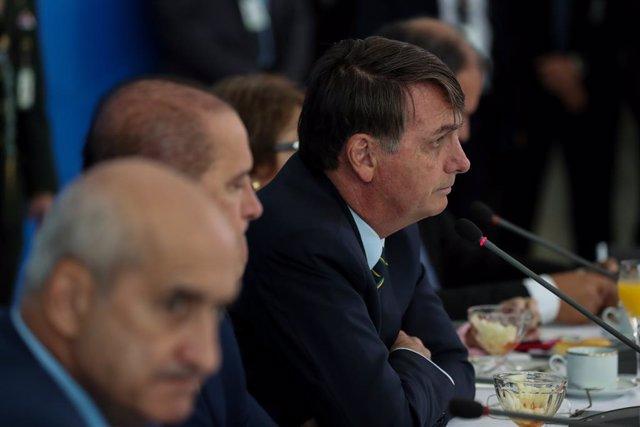 "Coronavirus.- Bolsonaro reivindica ""elogios"" para su Gobierno por la buena gesti"