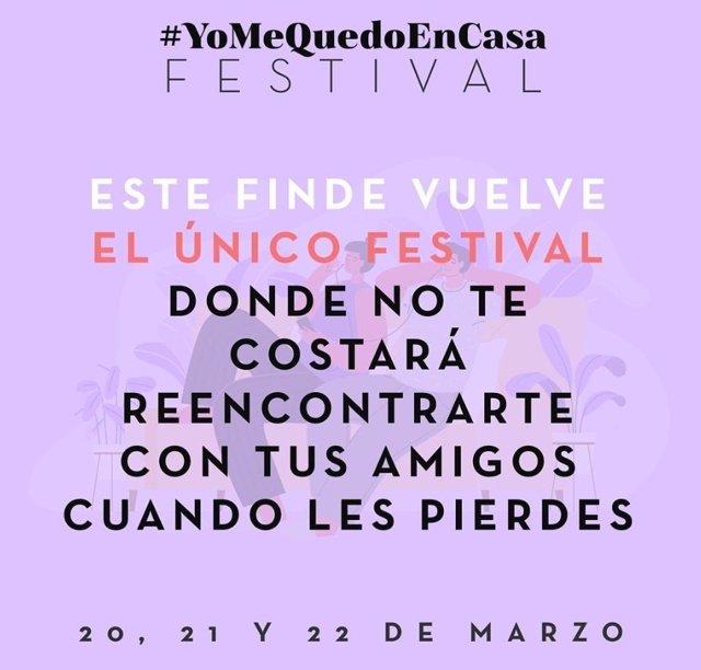 Cartel del segundo festival
