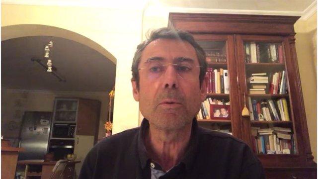 El delegado territorial de Agricultura, Ganadería, Pesca y Desarrollo Sostenible de la Junta de Andalucía en Málaga, Fernando Fernández, en un vídeo facilitado a los medios de comunicación.