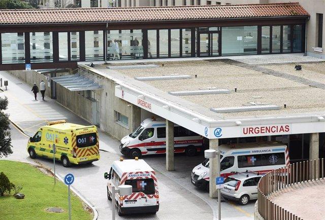 Uregencias del Hospital Universitario Marqués de Valdecilla