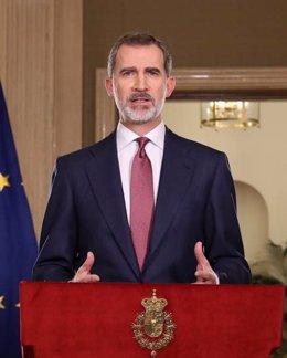 """Arrimadas ve """"irresponsable"""" que Podemos alentara protestas contra el Rey y pide"""