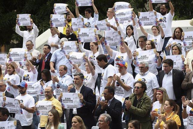 Coronavirus.-La oposición venezolana da la voz de alarma por los presos político