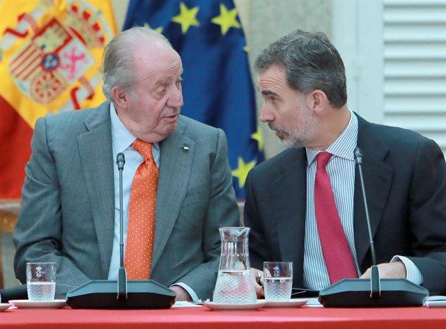 AMP.- Independentistas y nacionalistas registran una nueva comisión de investigación en el Congreso sobre Juan Carlos I
