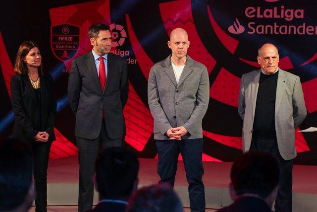 Fútbol.- LaLiga crea 'LaLiga Se Juega En Casa' para entretener a sus aficionados