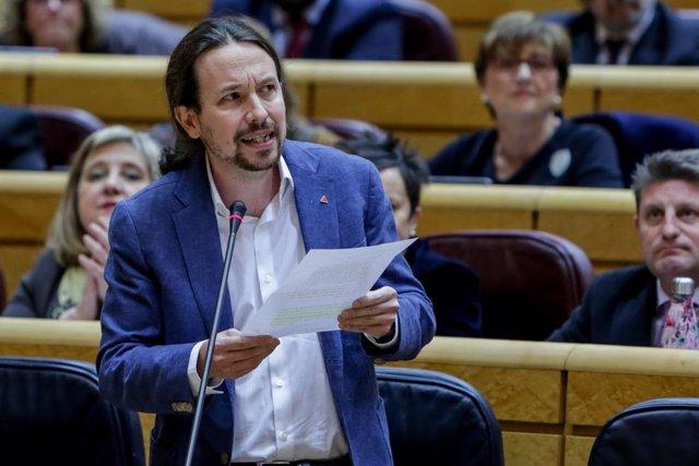 Pablo Iglesias enmarca en la libertad de expresión las caceroladas contra el Rey