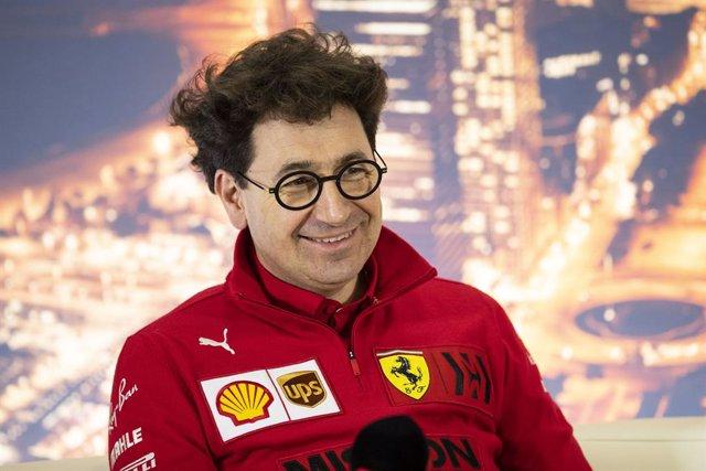 """Fórmula 1.- Binotto (Ferrari): """"La renovación de Vettel está en sus manos"""""""
