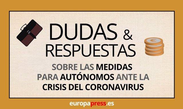 Dudas y respuestas sobre las medidas para autónomos ante la crisis del coronavirus