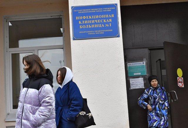 El hospital especializado en enfermedades infecciosas número uno de Moscú
