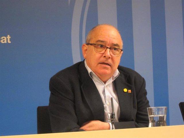 El conseller Josep Bargalló