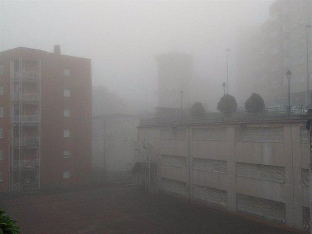 Niebla matinal en Euskadi.