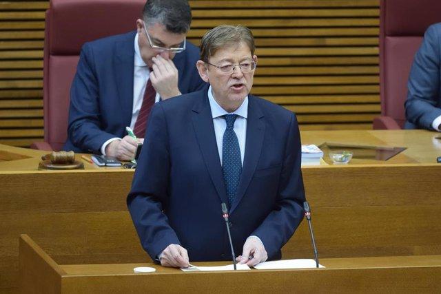 El presidente de la Generalitat Valenciana, Ximo Puig, en una imagen reciente.