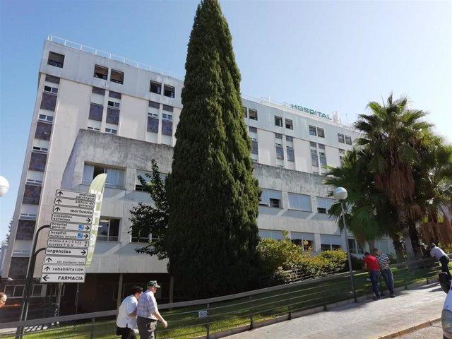 El Hospital Universitario Reina Sofía de Córdoba en una imagen de archivo.