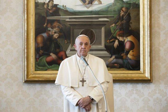 """Coronavirus.- El Papa receta """"caridad"""", """"comprensión"""", """"paciencia"""" y """"perdón"""" an"""