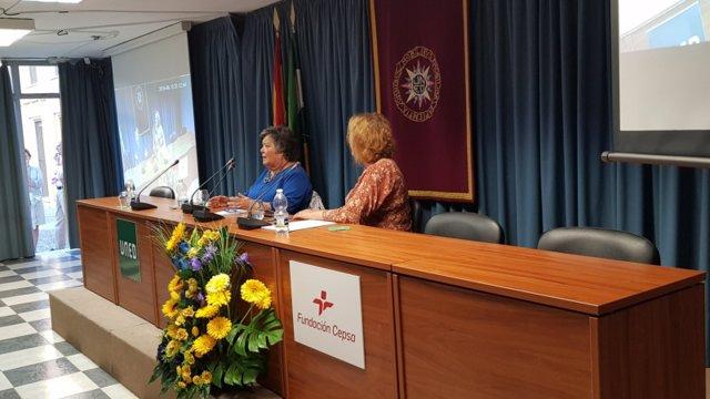 Cristina Almeida en la UNED