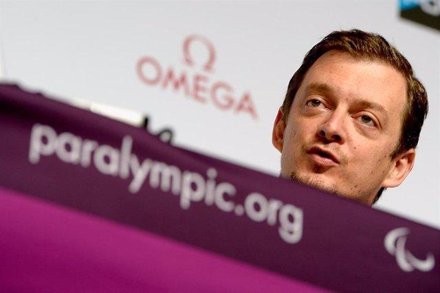El presidente del Comité Paralímpico Internacional Andrew Parsons