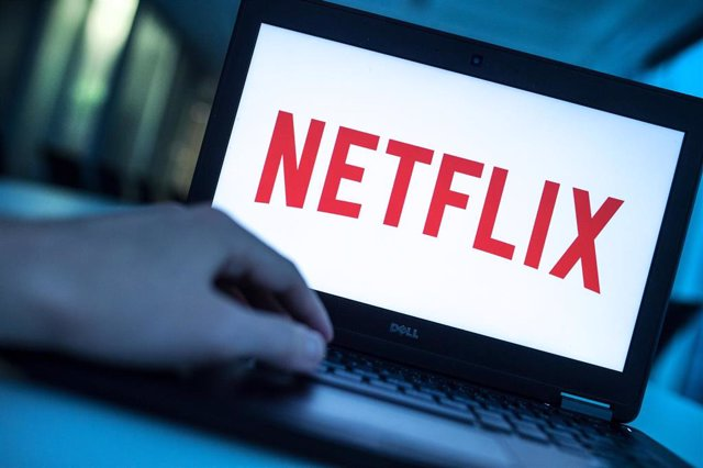"""FILED - 17 December 2016, Berlin: The logo of American media-services provider and production company Netflix appears on the display of a laptop. Netflix said it will add explanatory text to some of the maps featured in the Holocaust documentary series """"T"""