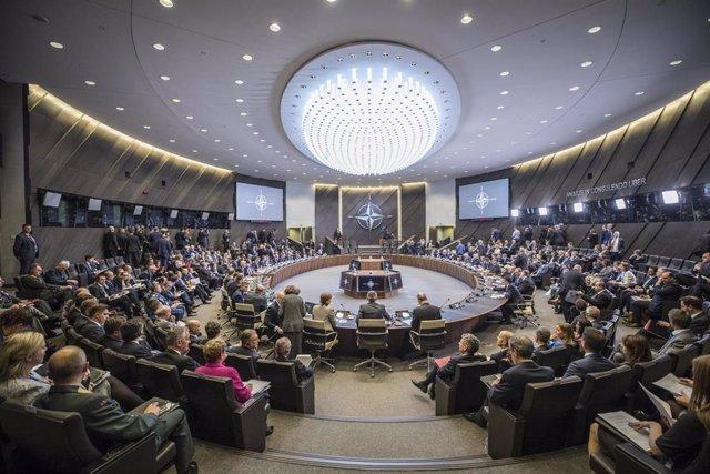 Reunión en Bruselas de los ministros de Exteriores de los países miembro de la OTAN
