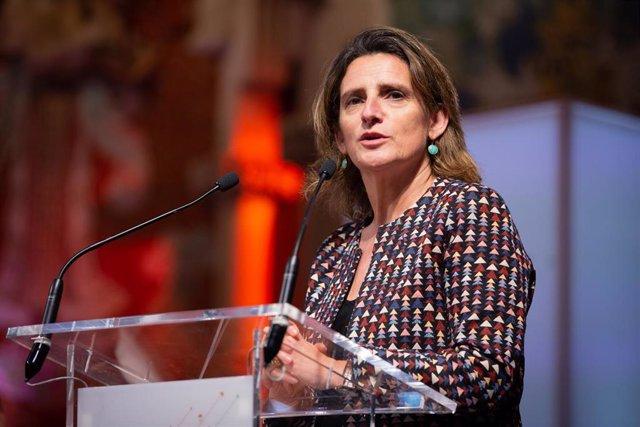 La vicepresidenta de Transición Ecológica en una foto de archivo