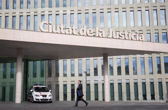 Imagen de archivo de la Ciutat de la Justícia de Barcelona.