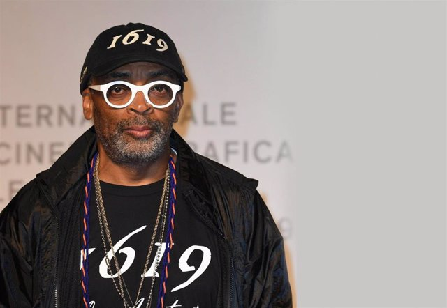 September 1st, 2019 - Venice, Italy. Spike Lee. Gala premiere of movie American Skin. The 76th Venice International Film Festival. (Piero Oliosi/Contacto)
