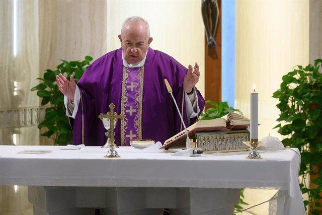 """Coronavirus.- El Papa reza por las autoridades: """"No es fácil gestionar este mome"""
