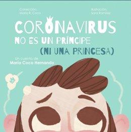 Portada de 'Coronavirus no es un príncipe (ni una princesa)'.
