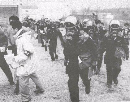 Japón.- Japón homenajea a las víctimas del ataque con gas sarín en el metro de Tokio 25 años después