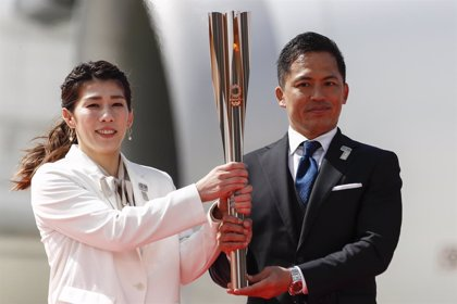 La llama olímpica llega a Japón