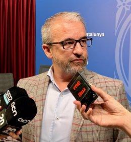 El secretari general de Treball, Assumptes Socials i Famílies de la Generalitat, Josep Ginesta.