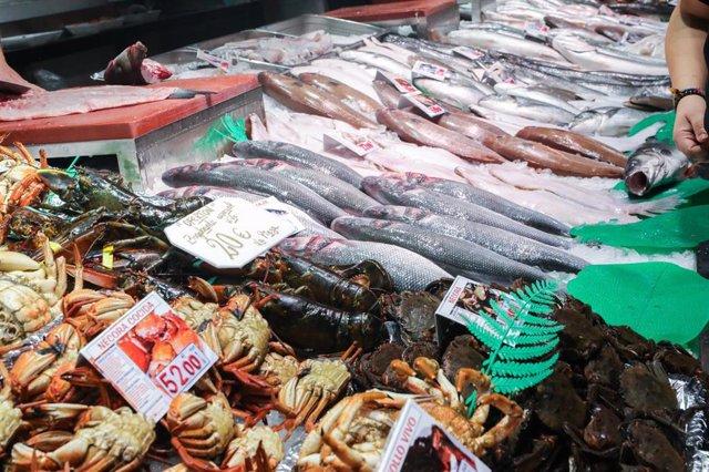 Recursos de pescadería, pescaderos, pescados, mariscos.
