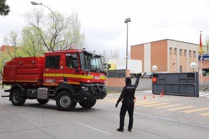 España.- Los militares continúan en 55 ciudades y amplían sus labores en Barcelona, aunque no en País Vasco