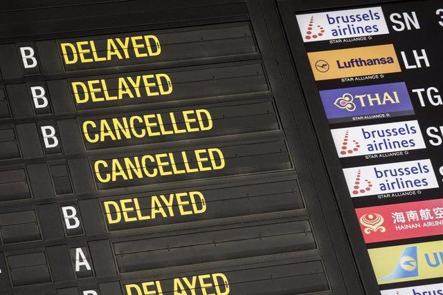 Coronavirus.- El segundo aeropuerto de Bélgica cierra hasta al menos el 5 de abr
