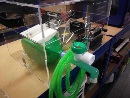 Portaltic.-Un grupo de ingenieros españoles se une para fabricar respiradores de bajo coste con impresión 3D
