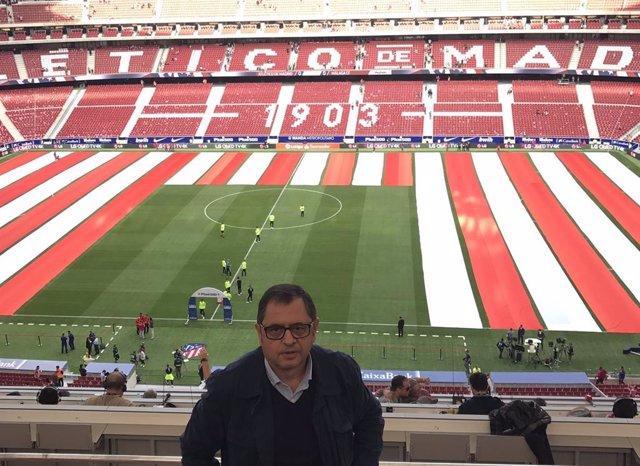 Fútbol.- El Atlético de Madrid lamenta el fallecimiento del periodista Chema Can