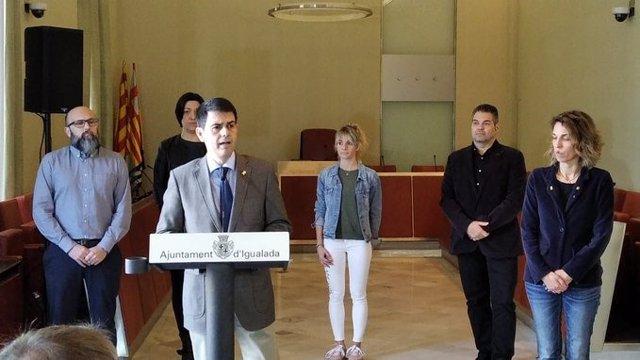 L'alcalde d'Igualada Marc Castells (Arxiu).