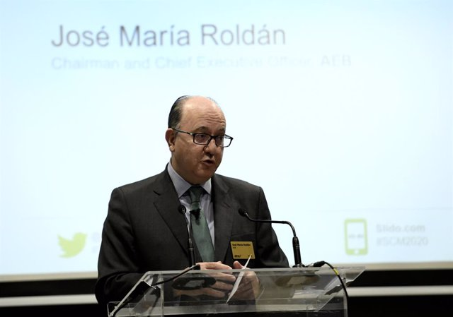 El presidente de AEB (Asociación Española de Banca), José María Roldán.